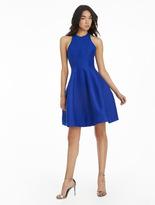 Halston Silk Faille Structured Dress