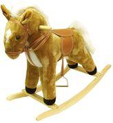 Happy Trails Plush Palomino Rocking Horse