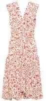 Isabel Marant Glory sleeveless silk-blend dress