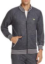 Emporio Armani Terry Zip-Front Lounge Sweatshirt