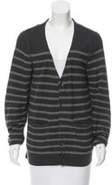 Rag & Bone Striped V-Neck Cardigan