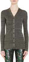 Prada Women's Rib-Knit V-Neck Cardigan