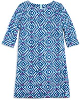 Vineyard Vines Girls' Whale Tail Print Shift Dress
