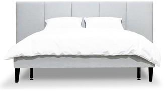 Calibre Furniture Smithson Bed Queen Cement Grey