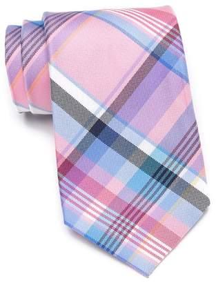 Tommy Hilfiger Barbecue Silk Plaid Tie