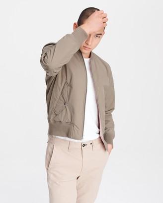 Rag & Bone Reversible manston nylon bomber jacket