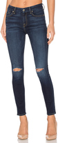 7 For All Mankind The Knee Slit Ankle Skinny