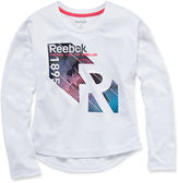 Reebok Girls Graphic Rebel T-Shirt - Preschool