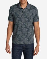 Eddie Bauer Men's Field Short-Sleeve Polo Shirt - Print