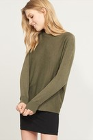 Dynamite Crossover Open Back Sweater