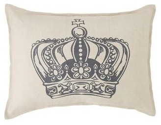 Amity Home King Crown Linen Lumbar Pillow