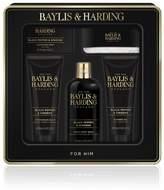 Mens Baylis & Harding Men's Black Pepper & Ginseng 5 Piece Tin - No Colour