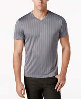 Alfani Men's Bar-Striped Performance T-Shirt, Only at Macy's