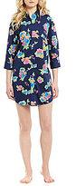 Lauren Ralph Lauren His Shirt Floral Lawn Sleepshirt
