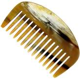 Smallflower Horn Wide Tooth Comb by Gold-Dachs (10cm Brush)