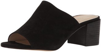 Pelle Moda Women's Union-su Slide Sandal Black 8 M US