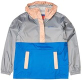 Marmot Kids PreCip(r) Eco Anorak (Little Kids/Big Kids) (Sleet/Pink Lemonade/Classic Blue) Girl's Clothing