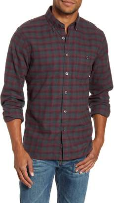 Todd Snyder Regular Fit Plaid Flannel Button-Down Shirt