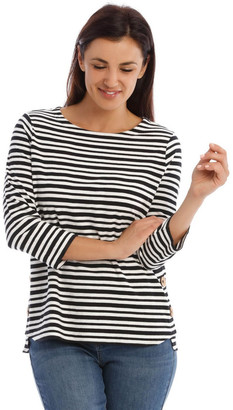 Regatta 3/4 Sleeve Button Side Tee