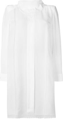 Fendi Handkerchief Collar Dress