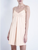 Bodas Shadow Stripe cotton nightdress