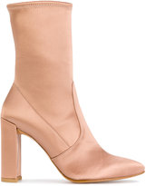 Stuart Weitzman stretch ankle boots
