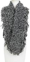 Jessica Simpson Bi-Color Woven Scarf with Fringe