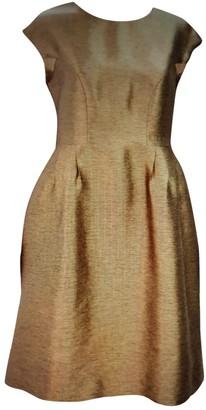 Hobbs Gold Dress for Women