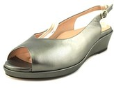 Taryn Rose Tellie Open-toe Leather Slingback Sandal.