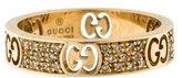 Gucci 18K Diamond Icon Stardust Ring