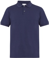 Sunspel Point-collar cotton-piqué polo shirt