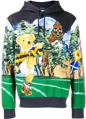 Polo Ralph Lauren rugby teddy hoodie