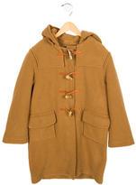 Oscar de la Renta Boys' Hooded Wool Coat