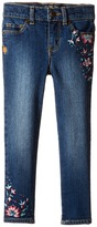 Lucky Brand Kids Zoe Jeans with Embroidery in Blue Wash (Toddler)