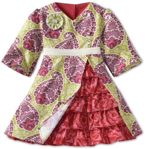 Moxie & Mabel Girls 2-6X Violet Dress