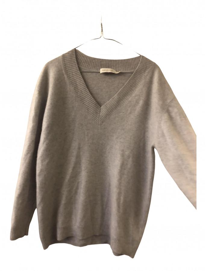 Zimmermann Grey Cashmere Knitwear