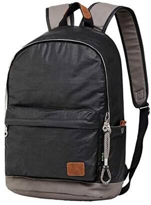 TSD BRAND Urban Light Canvas Backpack