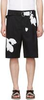 3.1 Phillip Lim Black Floral Shorts