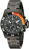 Invicta Men's 11290 Pro Diver Chronograph Carbon Fiber Dial Stainless Steel Watch