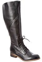 Seychelles Serpentine Leather Boot.