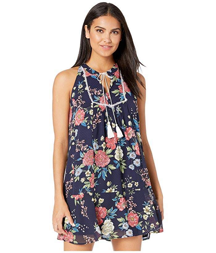 Miss Me Floral Swing Dress