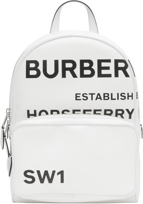 Burberry TB Horseferry Print Coated Canvas Backpack