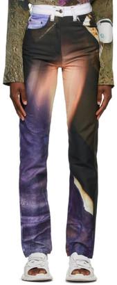 Serapis Multicolor Printed Jeans