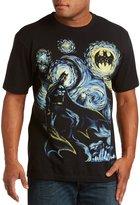 True Nation Abstract Batman Big & Tall Short Sleeve Graphic T-Shirt (1XL, )