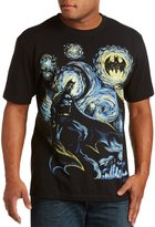True Nation Abstract Batman Big & Tall Short Sleeve Graphic T-Shirt (4XL, )