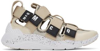 McQ Beige Tech Sandal 1.0 Sneakers