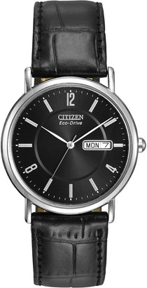 Citizen Men's Eco-Drive Stainless Steel Watch with Date BM8240-03E