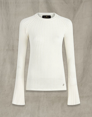Belstaff KITE CREW NECK White L