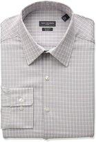 Van Heusen Men's Flex Slim Fit Plaid Point Collar Dress Shirt
