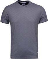 Cp Company Navy Tacting Knit Short Sleeve T-shirt